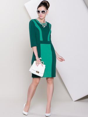 Платье Stets. Цвет: зеленый