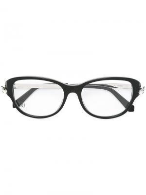Оптические очки Panthere Cartier. Цвет: чёрный