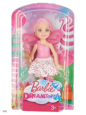 Маленькие феи-челси в ассортименте Barbie. Цвет: розовый, белый