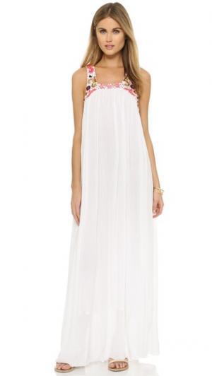 Длинное пляжное платье Ariel SUNDRESS. Цвет: белый