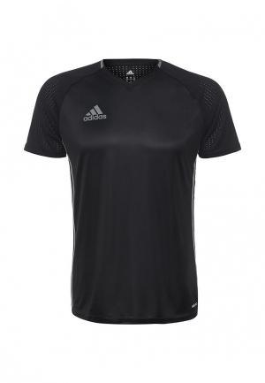 Футболка спортивная adidas Performance. Цвет: черный