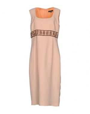 Платье до колена IVAN MONTESI. Цвет: абрикосовый