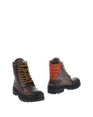 Полусапоги и высокие ботинки JARRETT. Цвет: хаки
