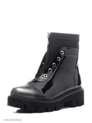 Ботинки Wilmar. Цвет: серебристый, черный