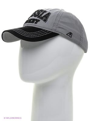 Бейсболка Atributika & Club. Цвет: серый