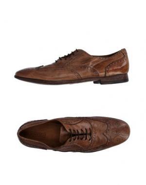 Обувь на шнурках PREVENTI. Цвет: верблюжий