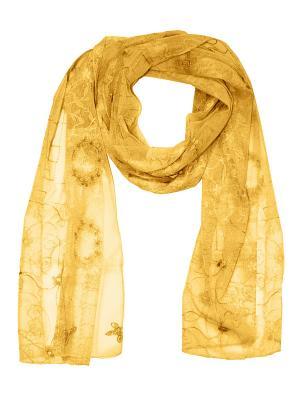 Платок Passigatti. Цвет: желтый