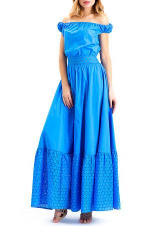 Платье XARIZMAS. Цвет: голубой
