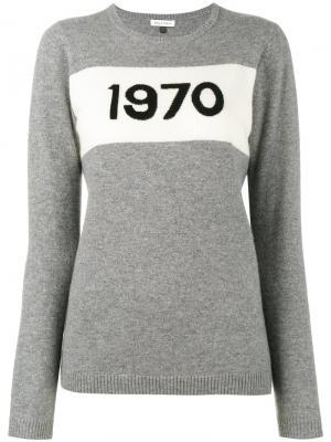 Свитер 1970 Bella Freud. Цвет: серый