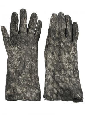 Перчатки Soudeur Isaac Sellam Experience. Цвет: чёрный
