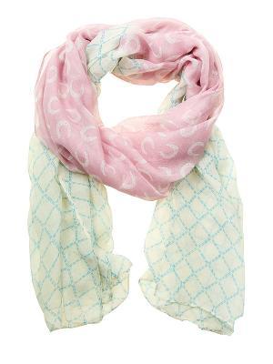 Платок Migura. Цвет: розовый, голубой