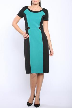 Платье Bellissima. Цвет: black and green