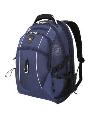 Рюкзак WENGER. Цвет: синий, серебристый