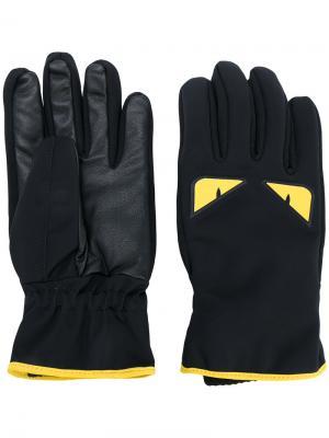 Перчатки Bag Bugs Fendi. Цвет: чёрный