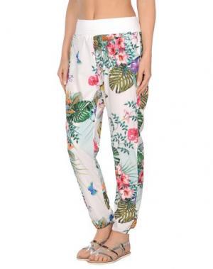 Пляжные брюки и шорты LIU •JO BEACHWEAR. Цвет: белый