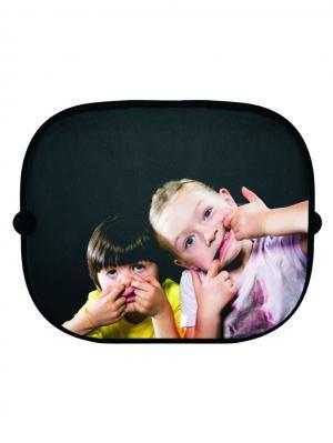Козырек от солнца на боковые стекла Crazy Kids Donkey. Цвет: черный, персиковый, желтый, белый