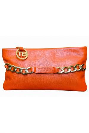 Клатч TOSCA_BLU. Цвет: оранжевый