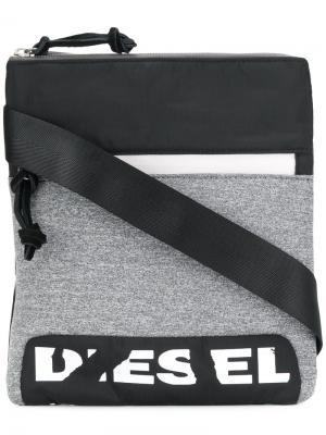 Сумка через плечо F-Scuba Diesel. Цвет: серый