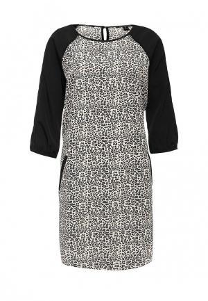 Платье Scotch&Soda. Цвет: черно-белый