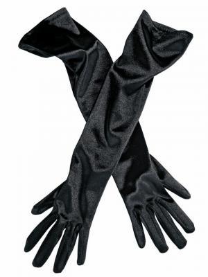 Бархатные перчатки Otto. Цвет: черный