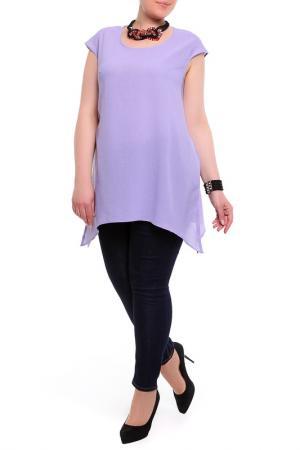 Блуза BERKLINE. Цвет: сиреневый