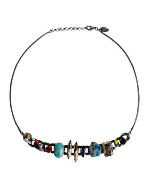 Ожерелье IOSSELLIANI. Цвет: свинцово-серый