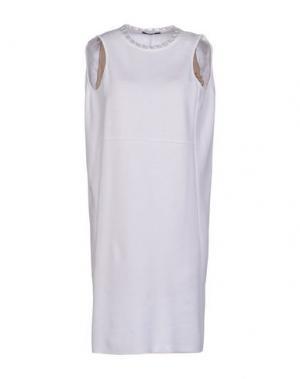 Платье до колена NEERA. Цвет: белый