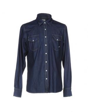 Джинсовая рубашка SMITH'S AMERICAN. Цвет: синий