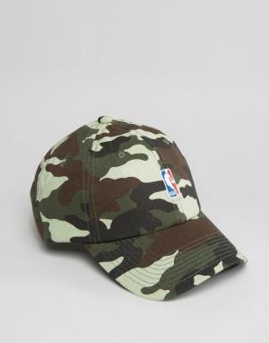 Mitchell & Ness Регулируемая кепка с логотипом NBA. Цвет: зеленый