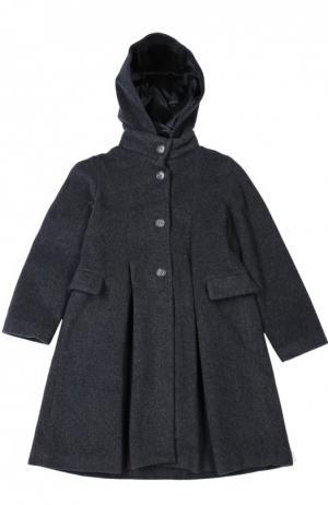 Пальто Caf. Цвет: серый