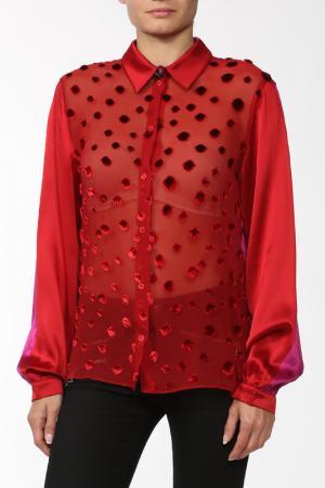 Рубашка Kenzo. Цвет: красный