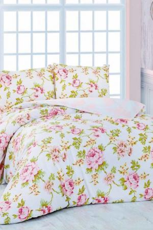 Double Quilt Cover Set Marie claire. Цвет: white, pink, green