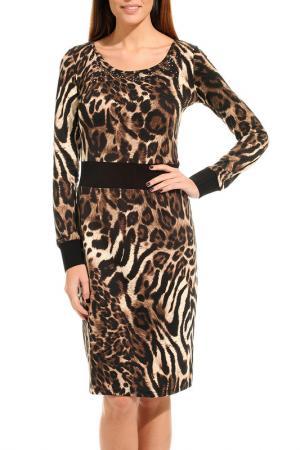 Платье GUITAR. Цвет: черный