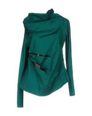 Pубашка OBLIQUE CREATIONS. Цвет: зеленый