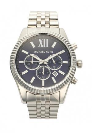 Часы Michael Kors. Цвет: серебряный