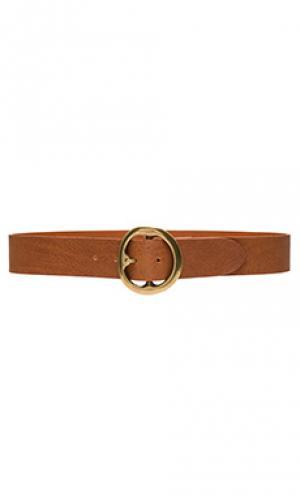 Пояс bell bottom B-Low the Belt. Цвет: коричневый