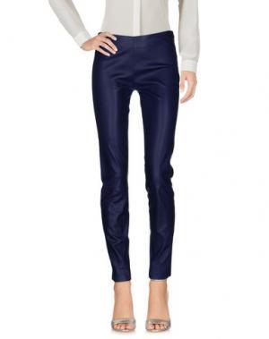 Повседневные брюки JITROIS. Цвет: синий