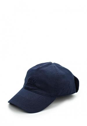 Бейсболка C.P. Company. Цвет: синий
