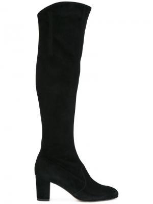 Сапоги по колено LAutre Chose L'Autre. Цвет: чёрный