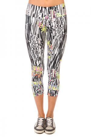 Леггинсы женские  New Zealand Legging Multi CajuBrasil. Цвет: черный,белый,мультиколор