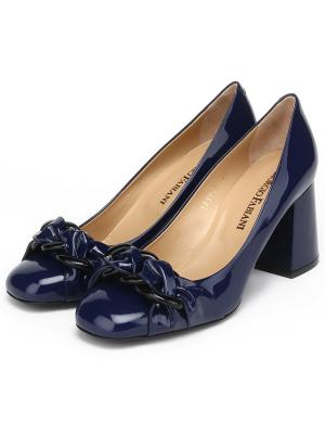 Туфли GIORGIO FABIANI. Цвет: синий