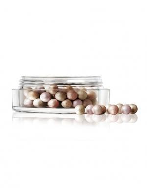 Пудра-хайлайтер в шариках  Shimmer Pearls №30 Make up factory. Цвет: серо-зеленый, бледно-розовый, коричневый