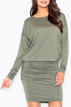 Платье Figl. Цвет: olive