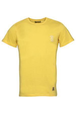 Футболка Z-Brand. Цвет: желтый