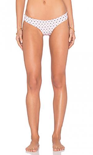 Низ бикини camila Salt Swimwear. Цвет: розовый