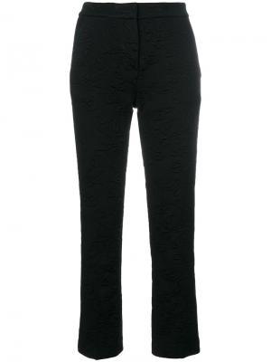 Укороченные прямые брюки Etro. Цвет: чёрный