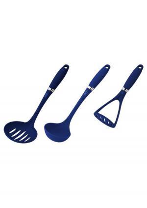 Кухонный набор (3 пр.) CALVE. Цвет: синий