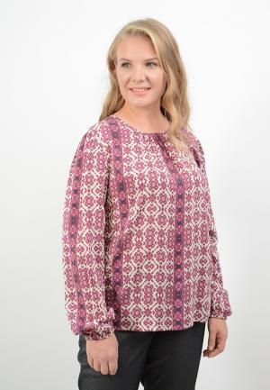 Блуза Lino Russo. Цвет: разноцветный