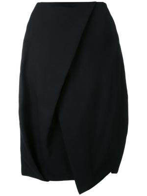 Юбка-тюльпан Enföld. Цвет: чёрный