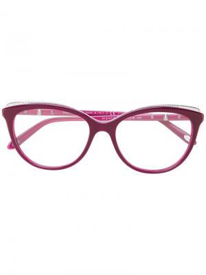 Очки кошачий глаз Tiffany & Co.. Цвет: розовый и фиолетовый